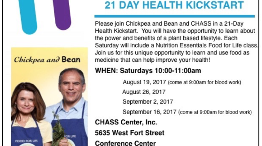 21 Day Kickstart at CHASS Center